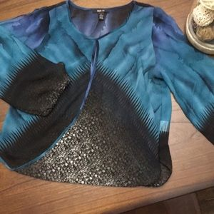 Style and co L blouse